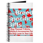 Breed Specific Gifts T-Shirt Journal