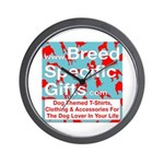 Breed Specific Gifts T-Shirt Wall Clock