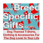 Breed Specific Gifts T-Shirt Tile Coaster