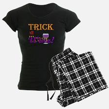 Halloween Trick or Wine! pajamas