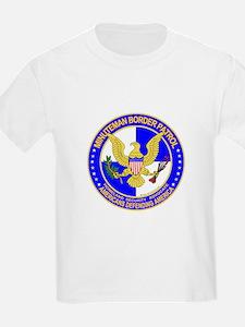 mx Minuteman Border Patrol Kids T-Shirt