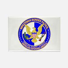 mx Minuteman Border Patrol Rectangle Magnet (10 pa