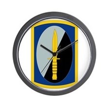 188th Infantry Brigade - SSI Wall Clock