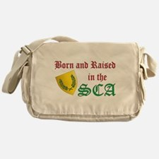 Born and Raised in the SCA Messenger Bag