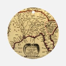 Southern States 1657 Ornament (Round)