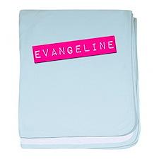 Evangeline Punchtape baby blanket