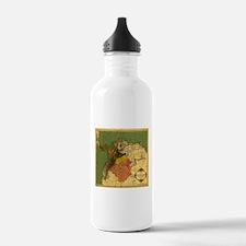 Panama Columbia 1886 Water Bottle