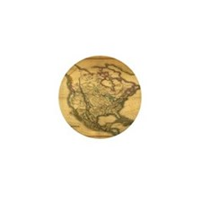 North America 1849 Mini Button