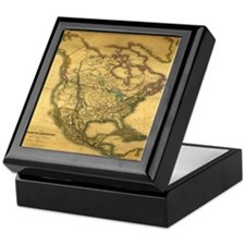 North America 1849 Keepsake Box