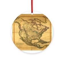 North America 1849 Ornament (Round)