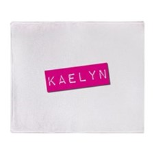 Kaelyn Punchtape Throw Blanket