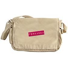 Fernanda Punchtape Messenger Bag