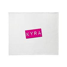 Kyra Punchtape Throw Blanket