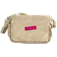 Ainsley Punchtape Messenger Bag