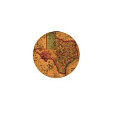 Texas 1866 Mini Button