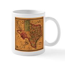 Texas 1866 Mug