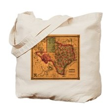 Texas 1866 Tote Bag
