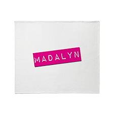 Madalyn Punchtape Throw Blanket