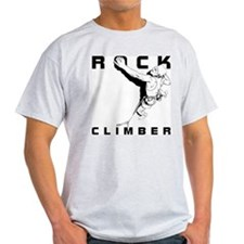ROCK CLIMBER Ash Grey T-Shirt