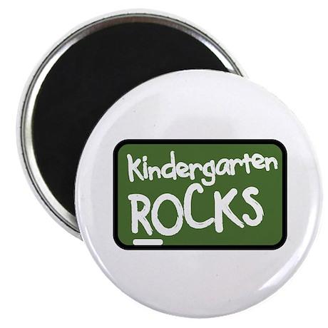 Kindergarten Rocks Magnet