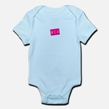 Gia Punchtape Infant Bodysuit