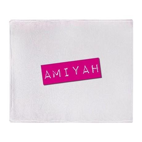 Amiyah Punchtape Throw Blanket
