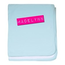 Madelynn Punchtape baby blanket