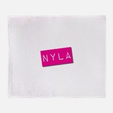 Nyla Punchtape Throw Blanket