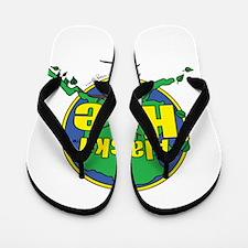 Alaska Hoe Flip Flops