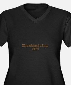Unique Sailing october 24 november 23 Women's Plus Size V-Neck Dark T-Shirt