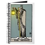 Tarot hermit Journals & Spiral Notebooks