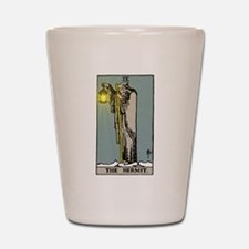 Hermit Tarot Shot Glass
