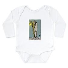 Hermit Tarot Long Sleeve Infant Bodysuit