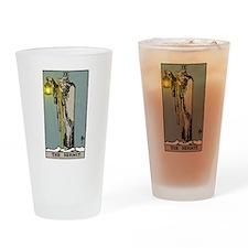 Hermit Tarot Drinking Glass