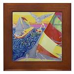 """""""Sailing"""" Framed Tile"""