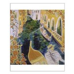"""Gondolier of Venice"" Small Poster"