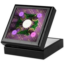 Advent Wreath Keepsake Box