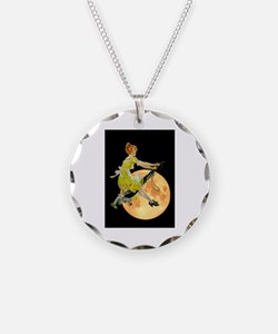 Modern Electric Witch Necklace