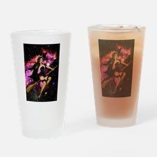 Sexy Cosmic Witch Drinking Glass