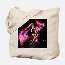 Sexy Cosmic Witch Tote Bag