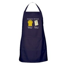 Castle - Righter Writer of Wrongs Apron (dark)