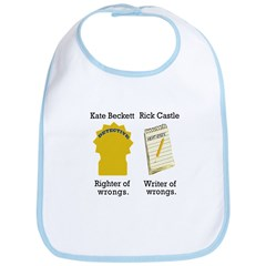 Castle - Righter Writer of Wrongs Bib