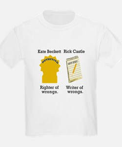 Castle - Righter Writer of Wrongs T-Shirt