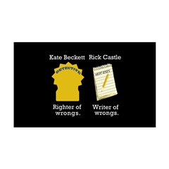 Castle - Righter Writer of Wrongs Wall Decal