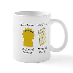 Castle - Righter Writer of Wrongs Mug