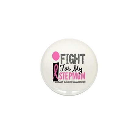 Fight For My Breast Cancer Mini Button (10 pack)