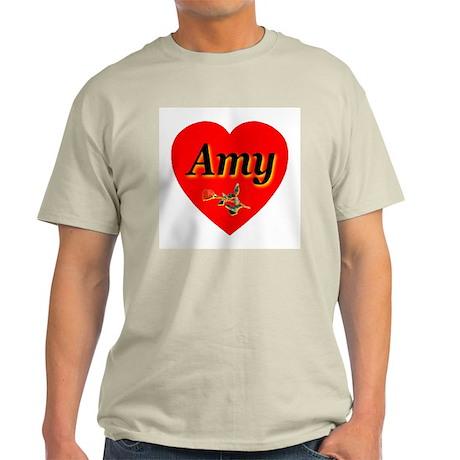 Amy Ash Grey T-Shirt