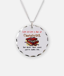 Life is a Box of Chocolates Necklace