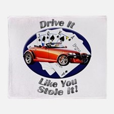 Plymouth Prowler Throw Blanket