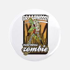 Vegetarian Zombie Button
